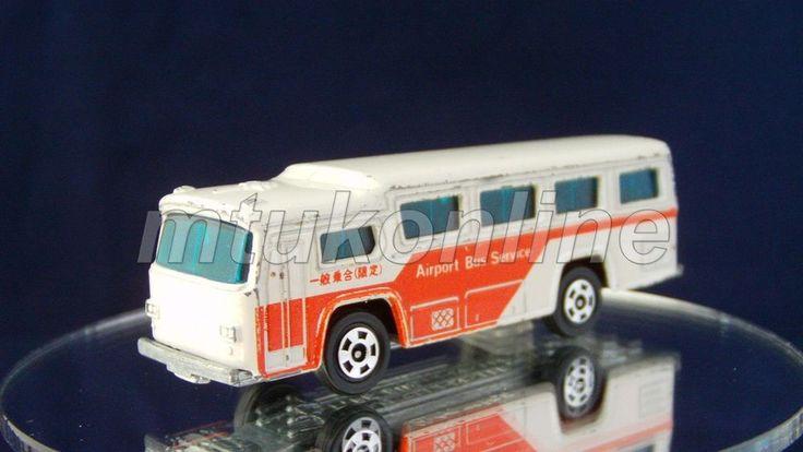 TOMICA 41 FUJI SEMI-DECKER BUS 1976 | 1/148 | JAPAN | 41B-22 | AIRPORT | NO BOX