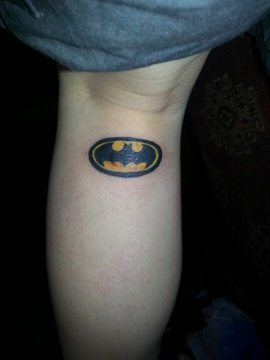 Batman symbol tattoo | Tattoos! | Pinterest