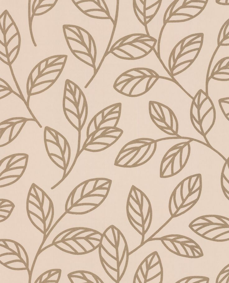 Sparkle Leaf Cream and Gold wallpaper by Albany