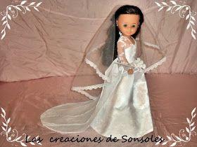 Desde hace años Mattel hace barbies con vestidos de novia de grandes diseñadores, y yo como coleccionista de de barbie los admiro, por eso ...