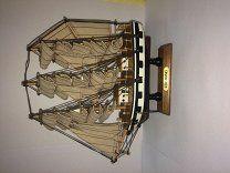 #Модель парусного корабля. Kershones. - 400 р. #  Отличный подарок на новый год.Корабли