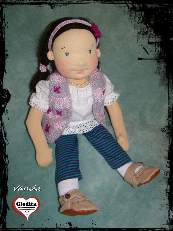 Wanda, waldorf inspired doll  Waldorf doll by #gleditacreative #waldorfbaba #waldorfdoll #waldorfbabavarras #legjobbjáték #legjobbjatek #csodalatosajandek  #handmade #dollsinEtsy