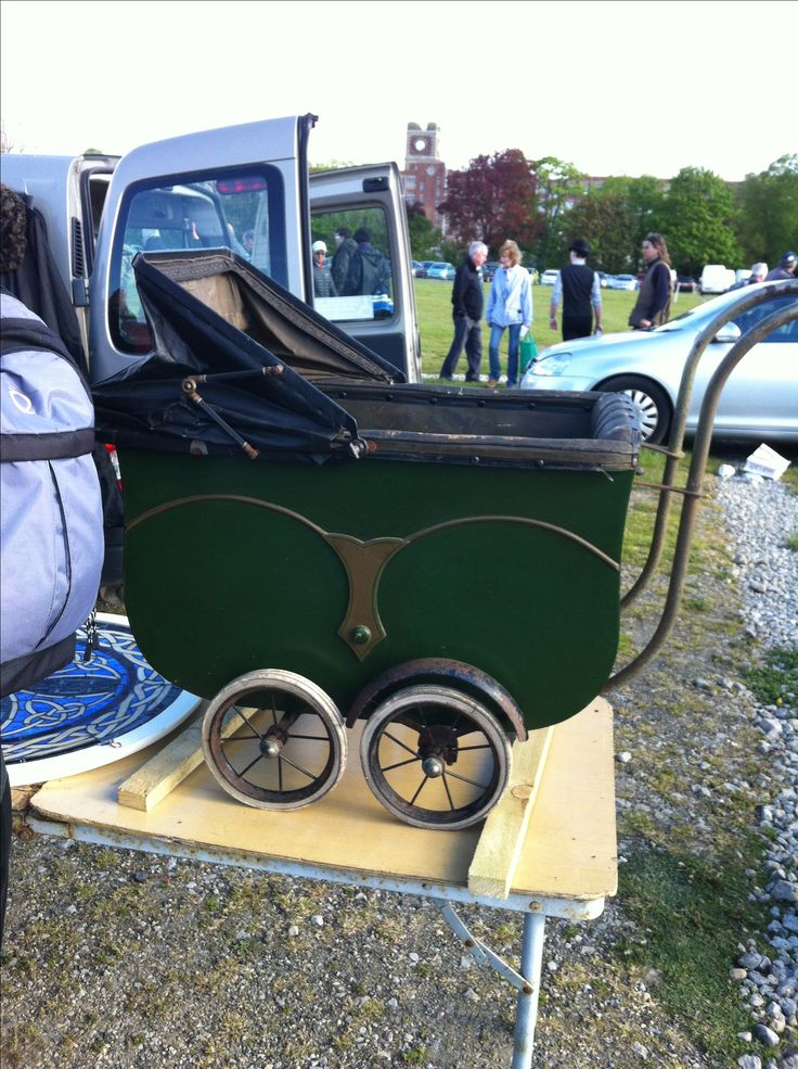 A Lovely Old 1930's pram for sale at York carboot sale