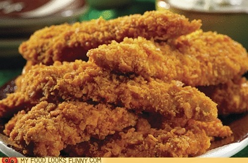 Cheez-it crusted chicken;  at www.plainchicken.com: Spicy Touchdown, Buffalo Chicken Wings, Cheez It Spicy, Chicken Wings Sauces, Touchdown Tenders, Spicy Chicken, Chicken Fingers, Chicken Tenders, Crusts Chicken