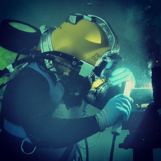 Underwater Welding | Flickr - Photo Sharing!