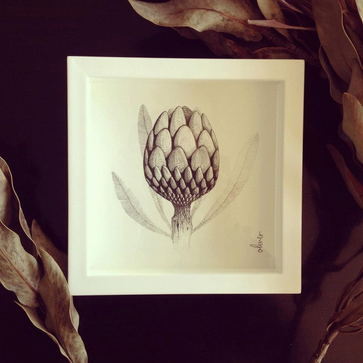 A Protea flower wedding gift to mark a new beginning - by Oliver Whyte #WhyteBox