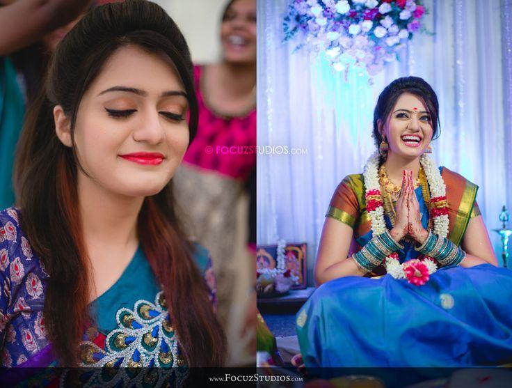 Gorgeous #SouthIndian #BridalMakeup