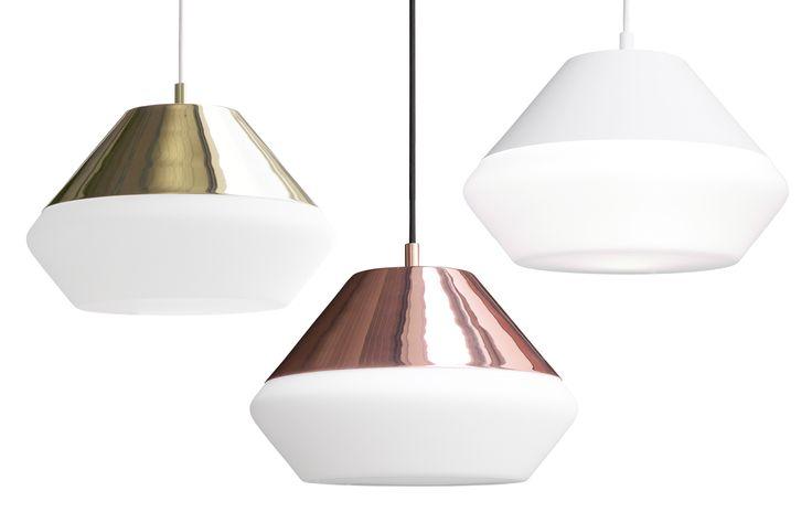 copper, brass and white frosted glass with metal base pendant lamp. Inspired by sea buoy and nature. Poiju designed by Finnish designer Matti Syrjälä   #sessak #sessaklighting #sessakdesign #lightingdesign #lighting #interior #Finnish design #tablelamp #hanging lamp #interiordesign