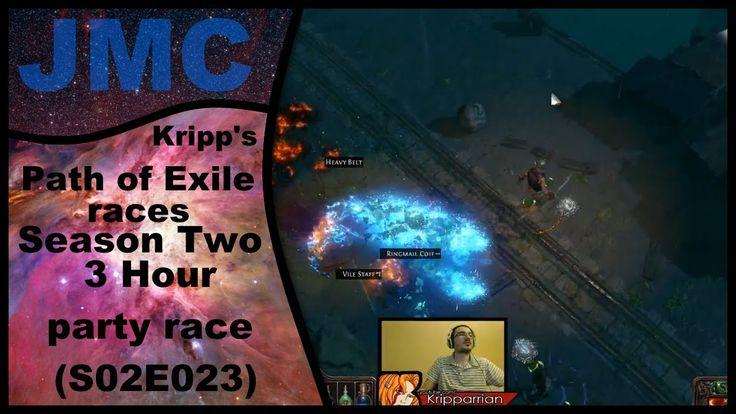 Kripp's Path of Exile races - Season Two, 3 Hour Party Race (S02E023)