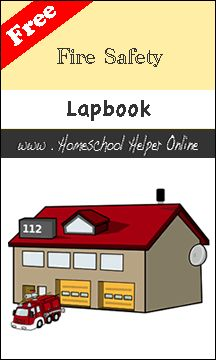 Fire Prevention week: Great find! I will probably use this one next year (3rd Grade) :) Fire Safety Lapbook - Homeschool Helper Online