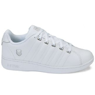 K Swiss White Leather Shoes