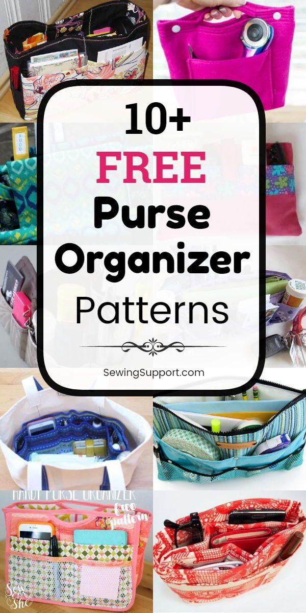 Purse Organizer DIY Insert Patterns: Eleven free purse ...