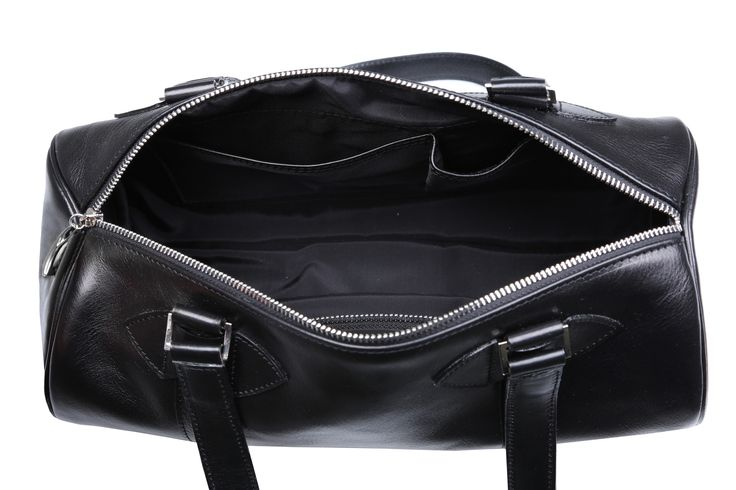 Inside #black #leather #cylinder #handbags #barrel #barrelbag