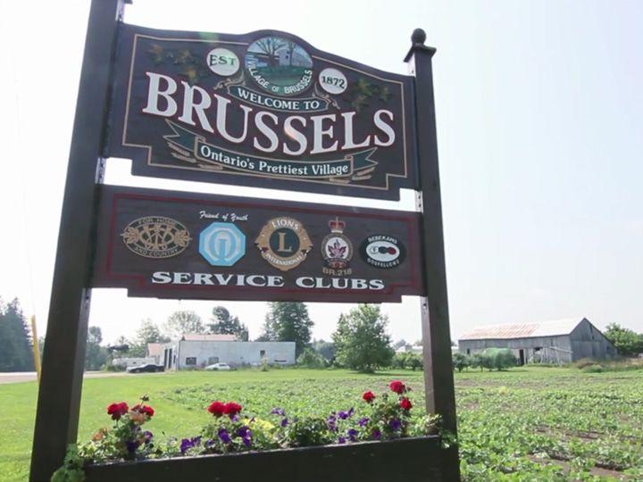 Brussels, Ontario's prettiest village.