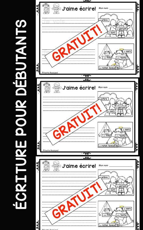 Étiquettes-mots, images, 3 choix pour assurer la différentiation!