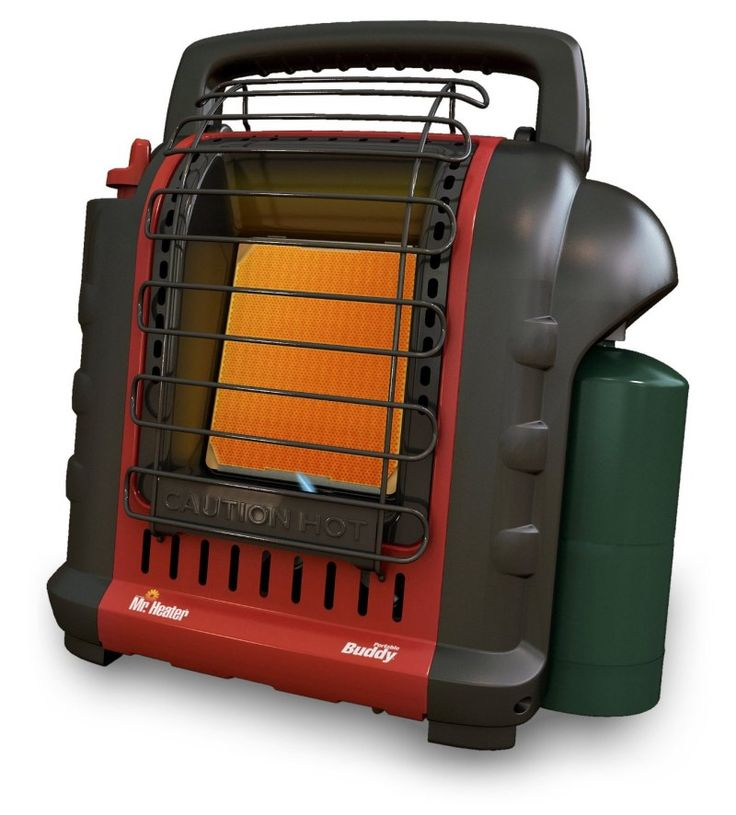 Use Portable Propane Heater While Dry Camping