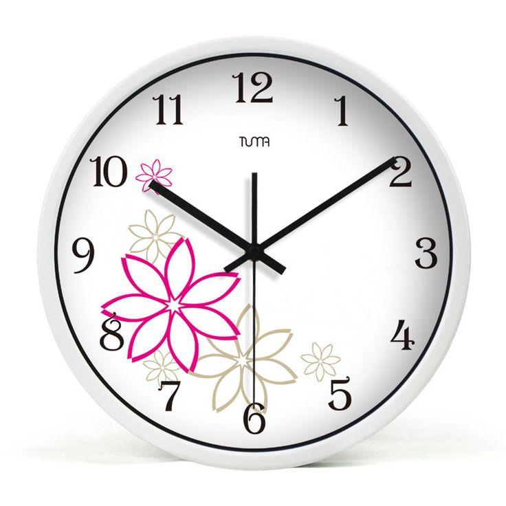 Большие Декоративные Настенные Часы Тихая Гостиная Horloge Murale Саати Кварц Круглый Металлический Декор Для Дома Кухня Настенные Часы QQN655