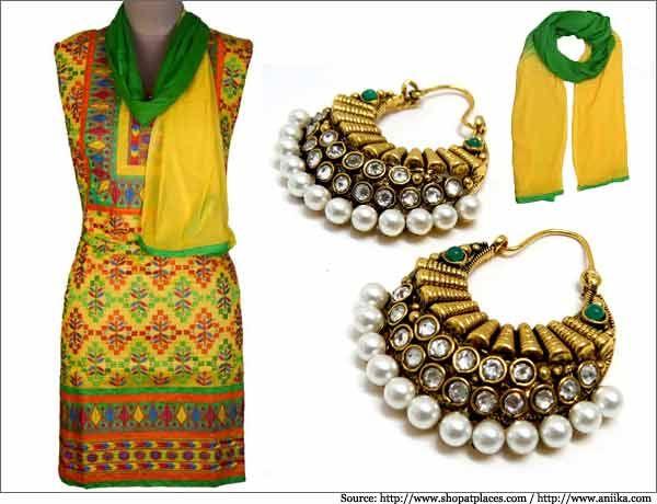 Colourful Kutch Work for Cotton Salwar Kameez for Summer -Salwar Suits