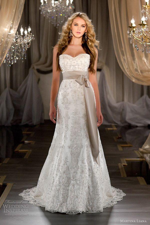 martina liana fall 2012 strapless wedding dress 419 Another breathtaking dress