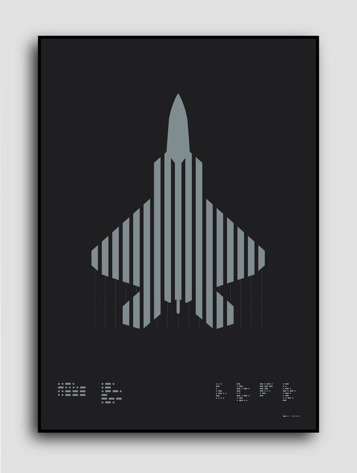 ≡✪≡ USAF F-22 Raptor  Help get this iconic aircraft printed in metallic silver ink on beautiful matt black paper https://t.co/EU37E5agf0  via @Kickstarter  Search for Grafik Aircraft on Kickstarter
