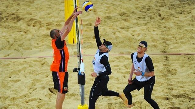 Beach Volleyball Netherlands - Germany
