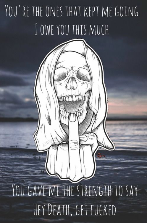 The Amity Affliction- Death's Hand