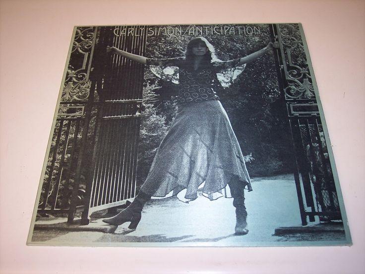 Vintage Carly Simon, Anticipation LP vinyl record by MaAndPasAttic on Etsy