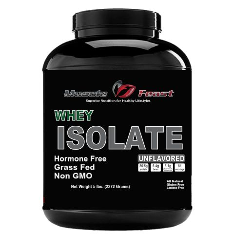 Hormone Free Grass Fed Whey Isolate