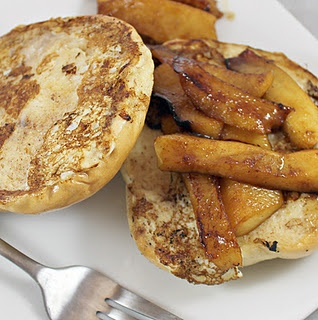 French Toast with Maple-Apple Compote
