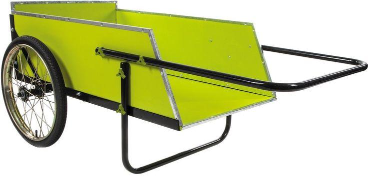 Yard Garden Cart Utility Wagon 7 Cubic Foot Heavy Duty Lawn Wheelbarrow New #SunJoe #Yard #Garden #Cart #Lawn