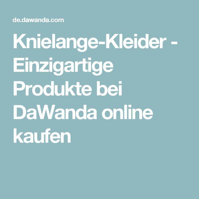 Knielange-Kleider - Einzigartige Produkte bei DaWanda online kaufen
