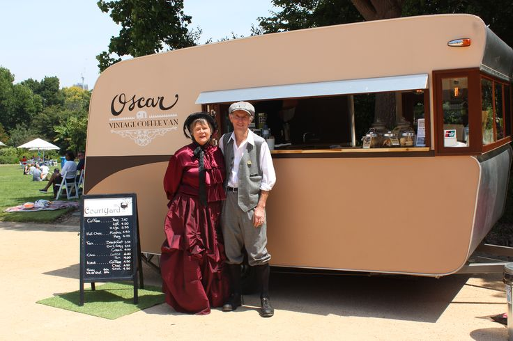 Oscar the Vintage Coffee Van - Melbourne wedding caravan, wedding catering, coffee van, food truck, wedding festival