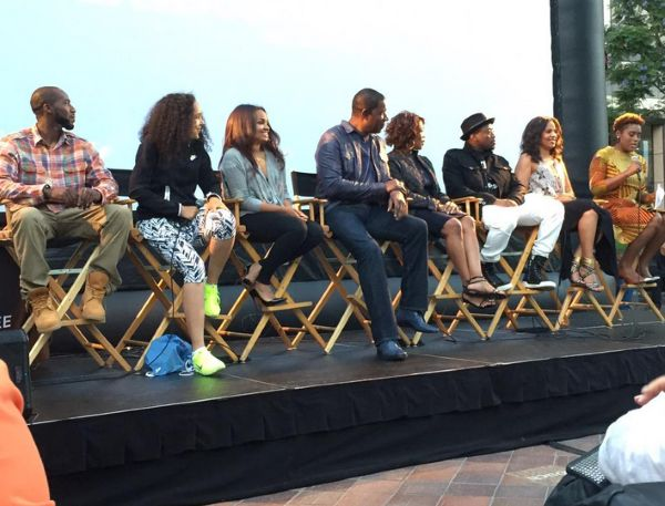 "REUNITED: Sanaa Lathan, Omar Epps & The ""Love And Basketball"" Cast Link Up For 15th Anniversary!"