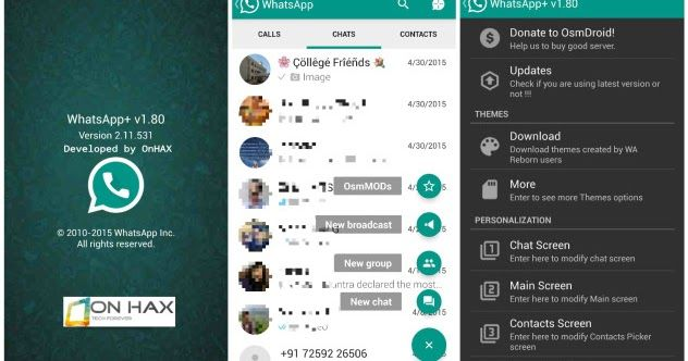 Download Whatsapp Mod Apk Terbaru September 2017 di 2020