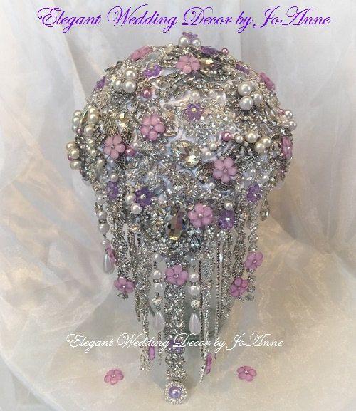 CRYSTAL BOUQUET DEPOSIT For a Custom by Elegantweddingdecor