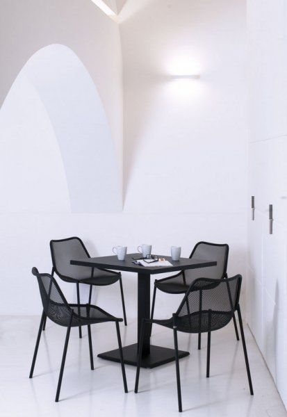Discover All The Information About The Product Bistrot Table / Contemporary  / Steel / Rectangular ROUND   EMU And Find Where You Can Buy It.