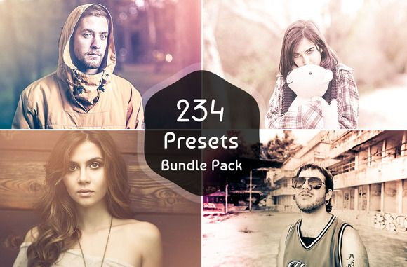 I just released (SALE) 234 Lightroom Presets Bundle on Creative Market.