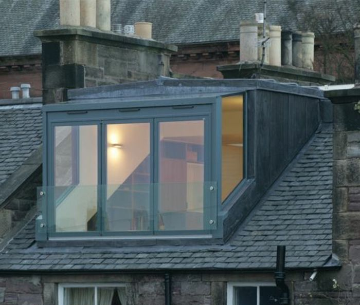 la lucarne de toit en 60 images inspiratrices grenier pinterest maison moderne carr s et. Black Bedroom Furniture Sets. Home Design Ideas