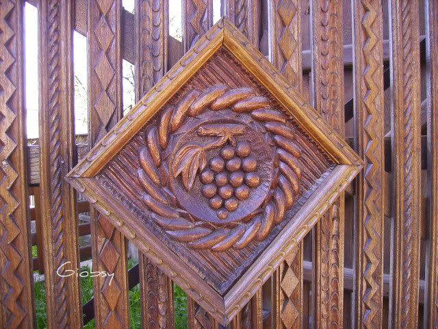 Wood gate - Maramures