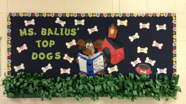 Top dogs bulletin board