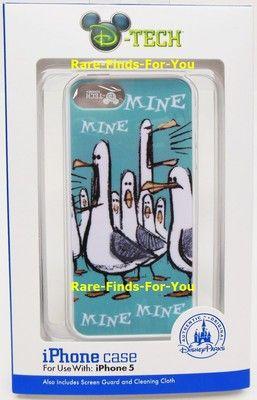 "Disney Parks D Tech Pixar ""Finding Nemo"" Mine Mine Seagulls iPhone 5 Case New   eBay"