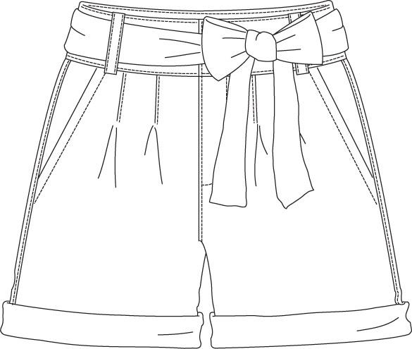 flat sketch
