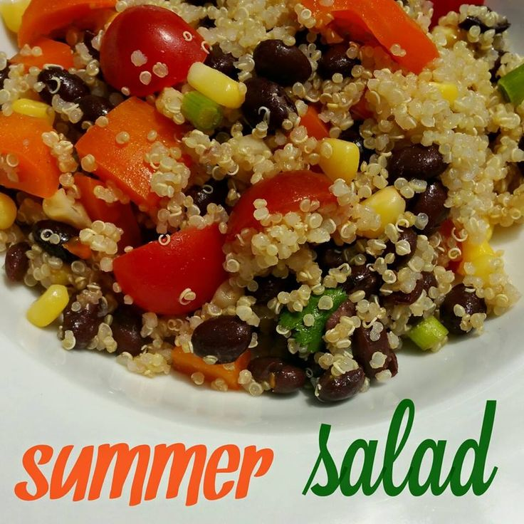 Here's my quick and easy Summer Salad recipe. Perfect to bring along to your summer picnics this year!  http://kendrafletcherfitness.com/2015/05/12/summer-salad/