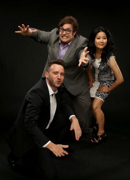 Scorpion' actors Eddie Kaye Thomas Ari Stidham and Jadyn Wong pose... News Photo 452347664 | Getty Images