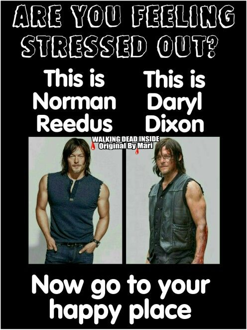 Hey works for me!! ♡ The Walking Dead, Memes, Daryl Dixon, Norman Reedus