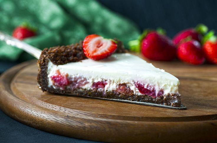 פאי תותים בשמנת - מתכוני השף הלבן