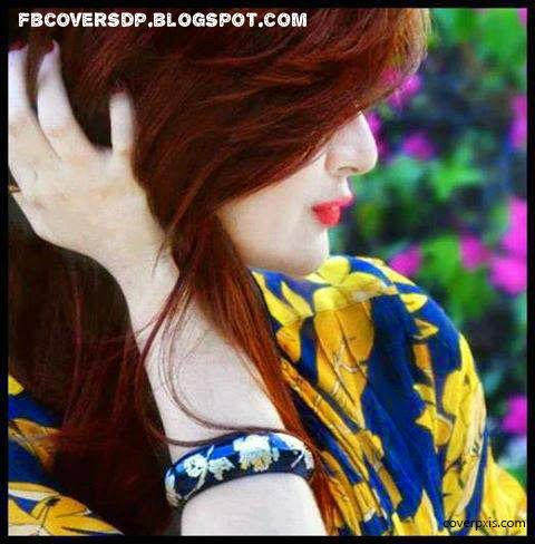 attitude girl hidden face fb dp, beautiful pretty girl hidden face dp ...