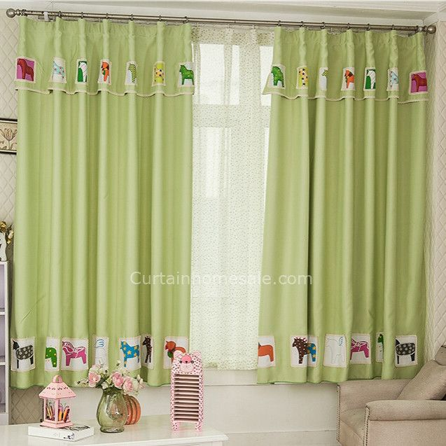 fabulous kids bedroom or living room curtains uk in bud green color - Gotische Himmelbettvorhnge