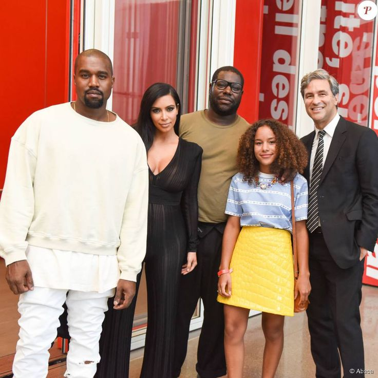 Michelle Grey, Tim Geary, Kim Kardashian, Kanye West, Steve Mcqueen, Michael Govan at the LACMA presentation at Neue House, Los Angeles, 24 July 2015
