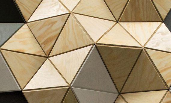 CELL —  9 pcs. wall sculpture, Decor, Pattern, Geometric, Hexagon